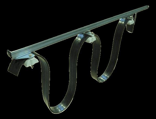 Kabelträgerschiene bzw. Schleppleitungssystem