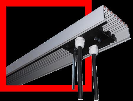 Rail électrique multiconducteur type VA38