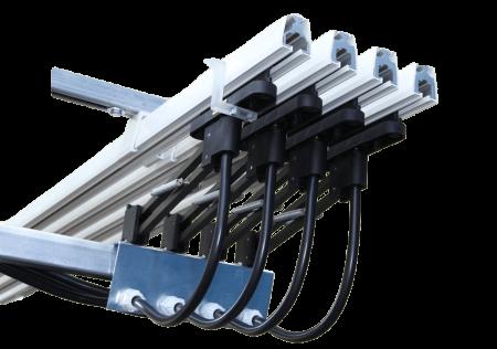 Rail électrique monoconducteurs type MC
