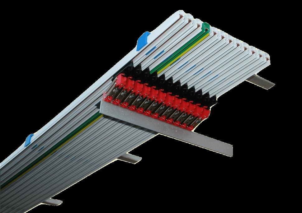 Einzelleiter Stromschienen Type MF