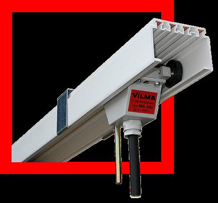 Rail électrique multiconducteur type CP