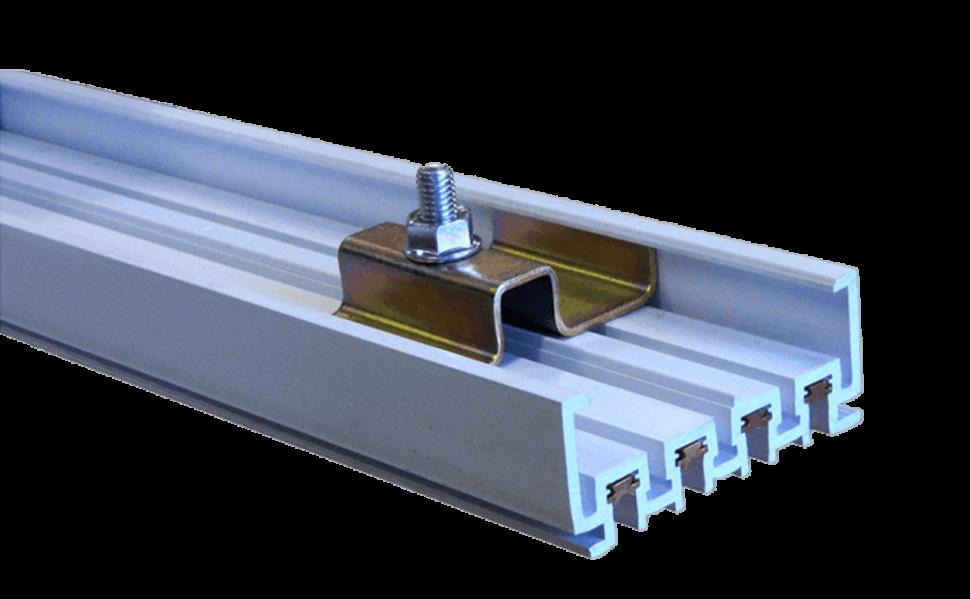 Rail électrique multiconducteur type VE